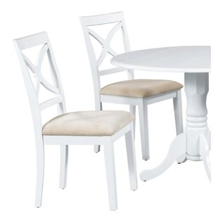 Fontinella Solid Wood Dining Chair (Set of 2) Alcott Hill