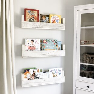 White Bookshelf Nursery Wayfair