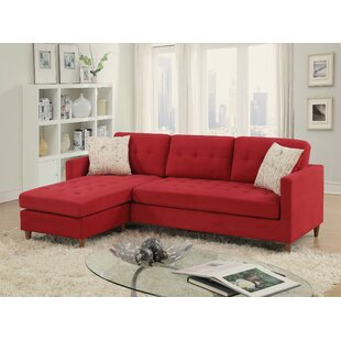 Mendosia Reversible Sectional by A&J Homes Studio