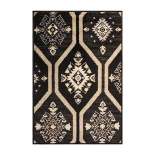 Price comparison Marquez Black/Beige Area Rug By Bloomsbury Market