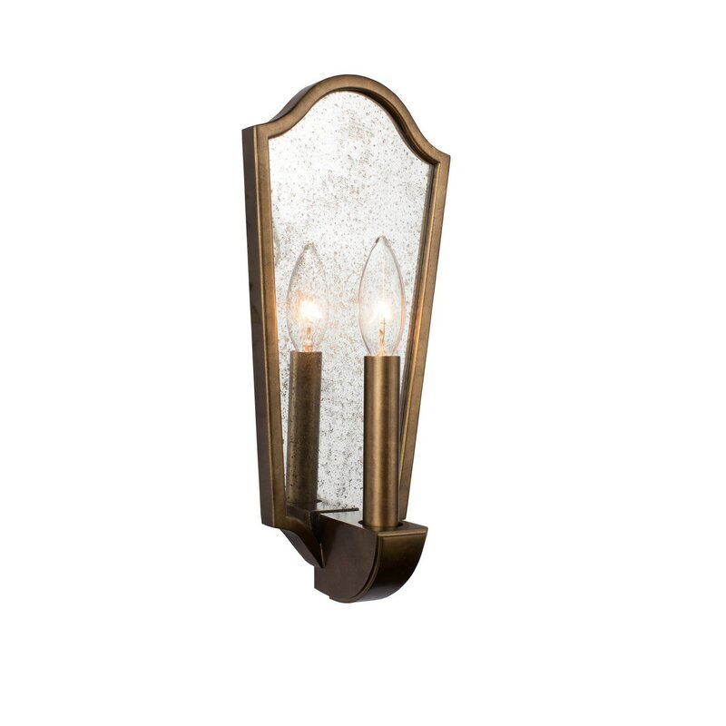 Jasmyn Casual Luxury Farmhouse 1-Light Flush Mount - a gorgeous French country wall sconce for your European inspired interiors.