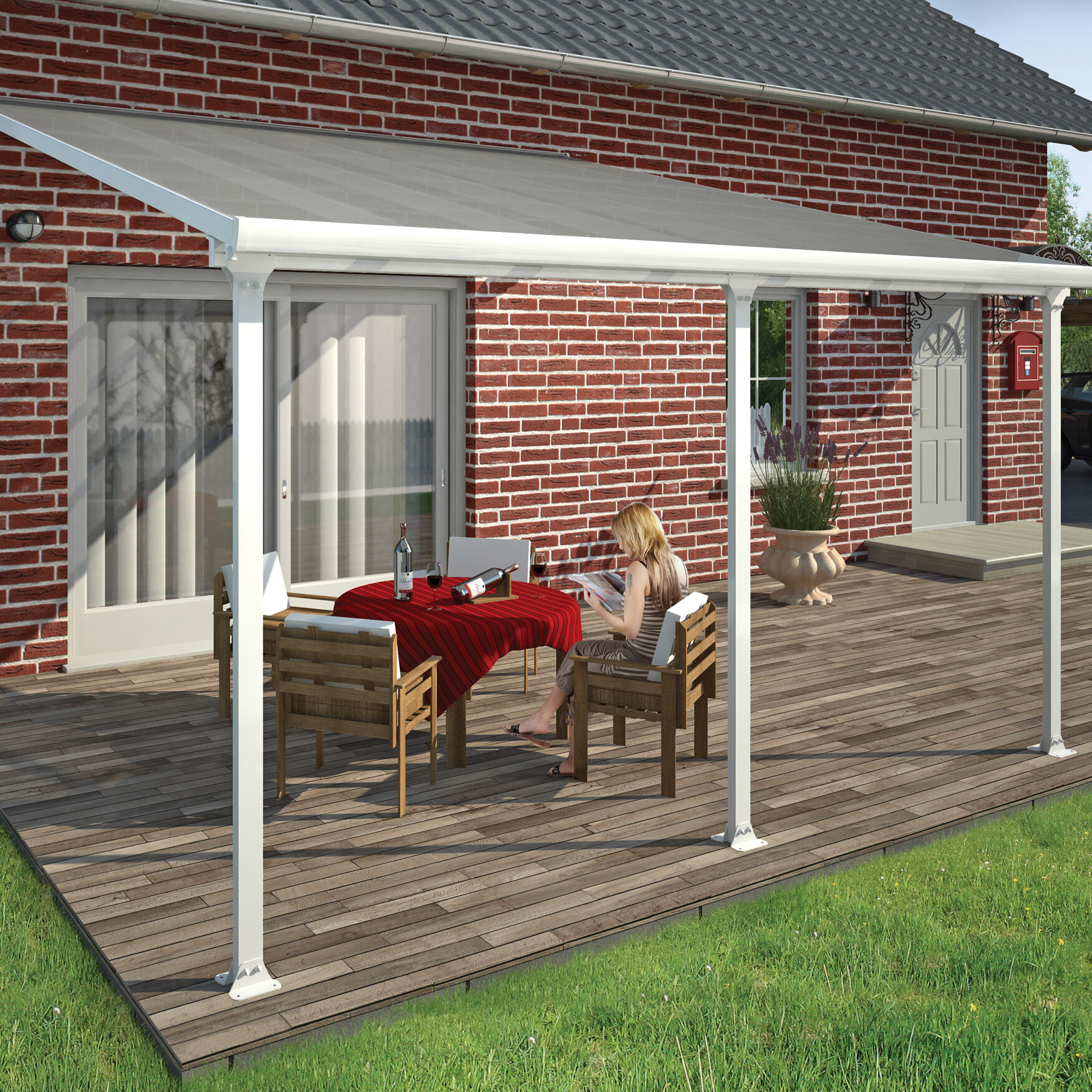 D Patio Awning | Wayfair