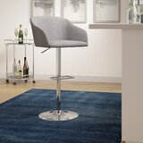 Embrey Swivel Adjustable Height Bar Stool by Langley Street™
