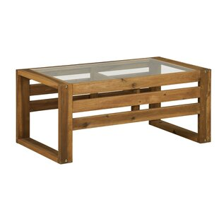 Lybarger Wooden Coffee Table