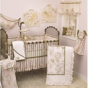 Lollipops & Roses 8 Piece Crib Bedding Set By Cotton Tale