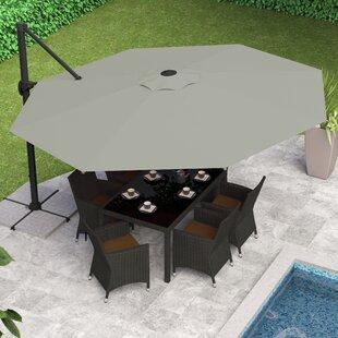 Beachcrest Home Gribble 11' Cantilever Umbrella
