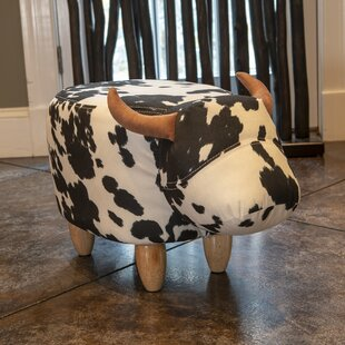 Clemons Cow Step Stool by Zoomie Kids