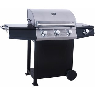 Bartley 143 Cm Gas Barbecue With 3 Burners By Sol 72 Outdoor