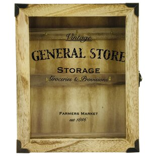 General Store Wooden Key Box By Rosalind Wheeler