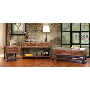 Pruett Urban Coffee Table with Storage by Loon Peak