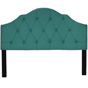 Elsie Queen Upholstered Panel Headboard by Cortesi Home