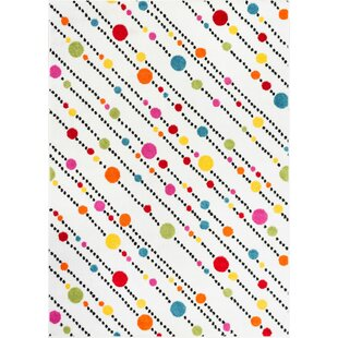 Where buy  Juliet White Area Rug By Viv + Rae