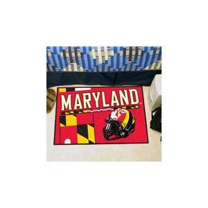 NCAA University of Maryland Starter Doormat
