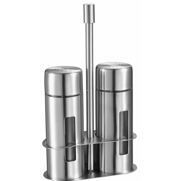 Visol Products Gilberte 2 Piece Salt And Pepper Shaker Set Reviews Wayfair