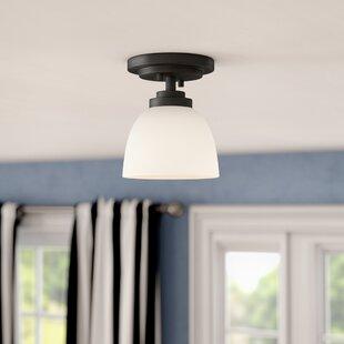 Kepner 1-Light Semi Flush Mount