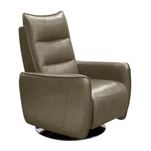 Weccacoe Push-Back Manual Swivel Recliner