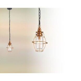 17 Stories Sapan 1-Light Outdoor Hanging Lantern