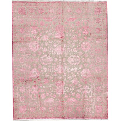 Luxury Pink Area Rugs Perigold
