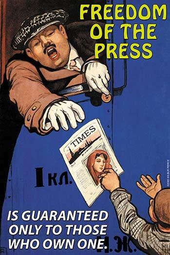 Buyenlarge Freedom Of The Press Advertisements Print Wayfair