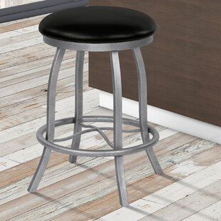 Rosalie 26 Swivel Bar Stool Orren Ellis