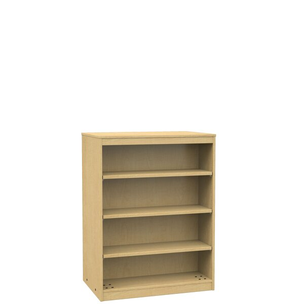 Unique Double Sided Wood Bookcase | Wayfair ZV72