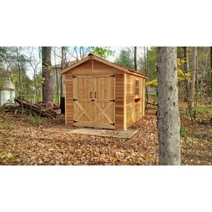 Rancher 9 Ft. W X 13 Ft. D Wood Storage Shed By Cedarshed