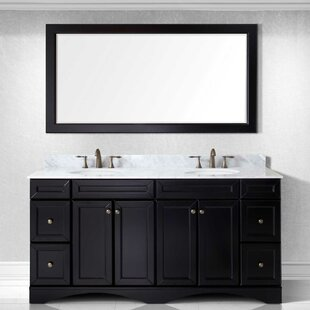 2 Three Posts Rosado 72 Double Bathroom Vanity