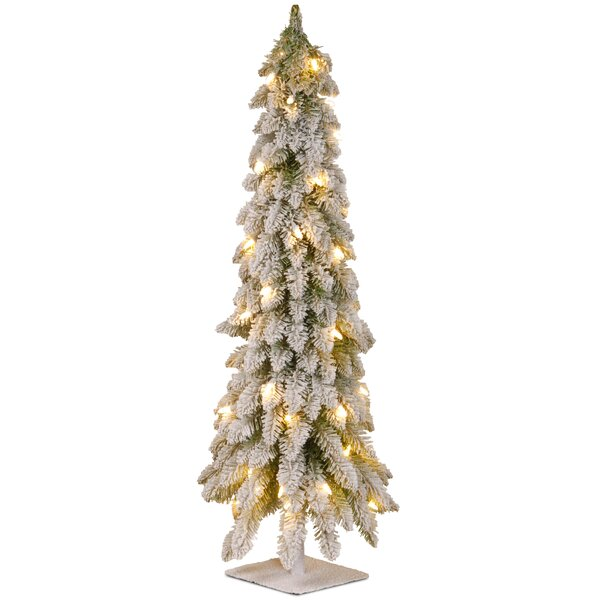National Tree Co. Downswept Douglas Green Pine Artificial Christmas Tree  with Clear/White Lights & Reviews | Wayfair - National Tree Co. Downswept Douglas Green Pine Artificial Christmas