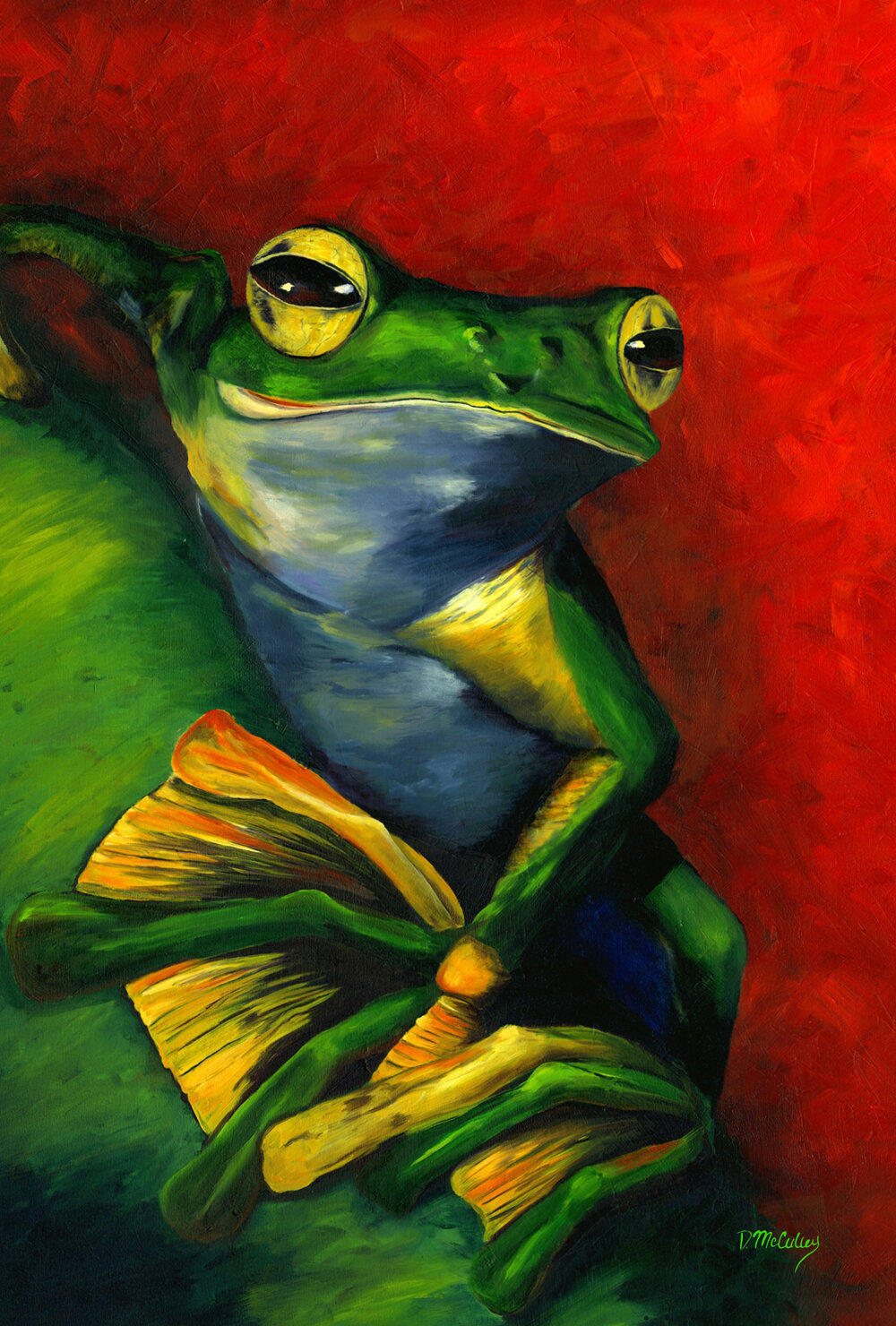 Tranquil Frog