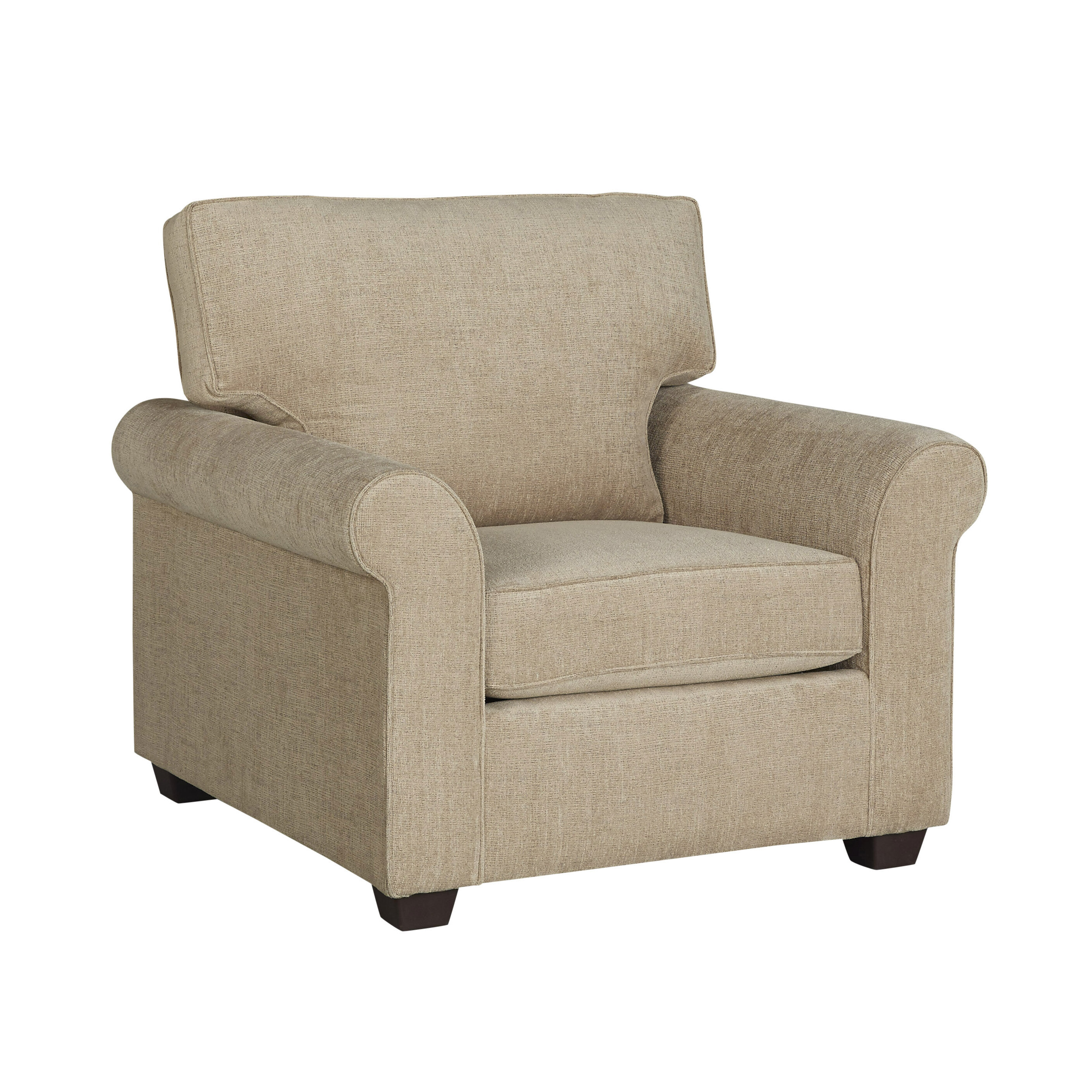 Bon Red Barrel Studio Glastonbury Upholstered Armchair U0026 Reviews | Wayfair