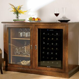 Siena 28 Bottle Single Zone Wine Sideboard by Wine Enthusiast