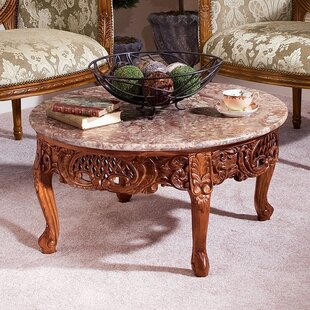 Best Reviews Chantret Coffee Table by Design Toscano