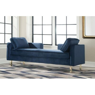 Teal Chaise