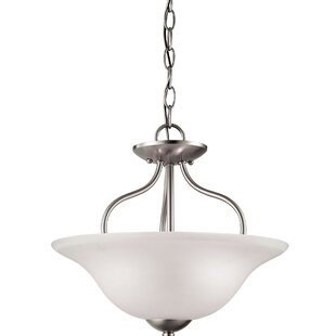 Ashtyn 2-Light LED Semi Flush Mount by Charlton Home