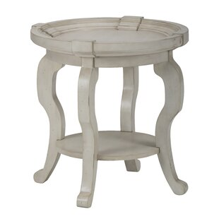 Dedrick Transitional Mid-Century Wooden End Table