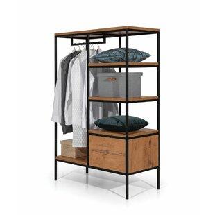 Review Fredricks 106cm Wide Clothes Storage System
