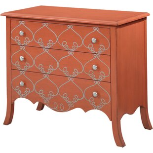 Kaneshiro 3 Drawer Chest By One Allium Way