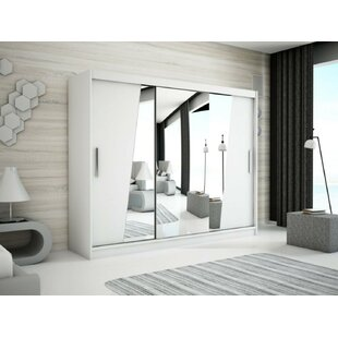 Rhomb 3 Door Sliding Corner Wardrobe By Minio