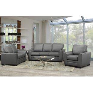 Orren Ellis Nadin 3 Piece Living Room Set