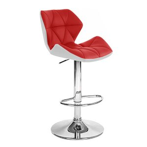 spyder adjustable height swivel bar stool