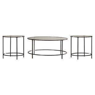 Mercury Row Casanova 3 Piece Coffee Table Set