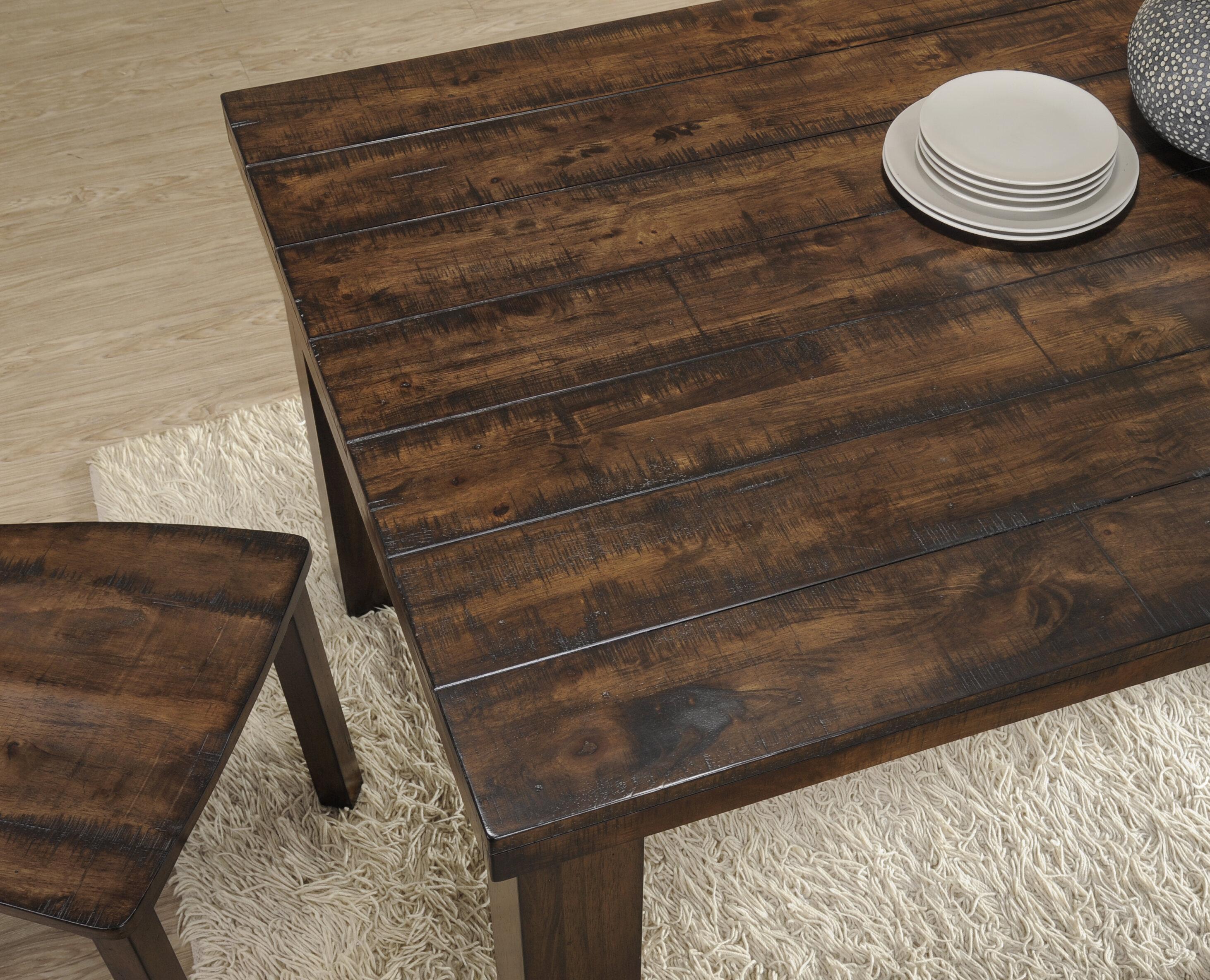 Loon Peak Morefield 6 Piece Dining Table Set Reviews Wayfair