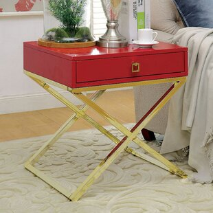 Best Deals Furtado End Table with Storage By Everly Quinn