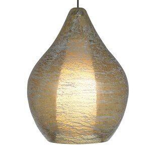 Macintyre 1-Light Teardrop Pendant by Ivy Bronx