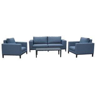 Walter 4 Seater Sofa Set By Wade Logan