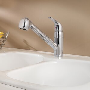 Pfister Pfirst Series Single Handle Deck Mounted Kitchen Faucet