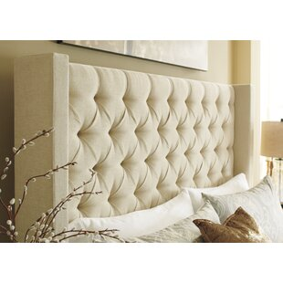 Read Reviews Camarena Upholstered Panel Headboard by Darby Home Co