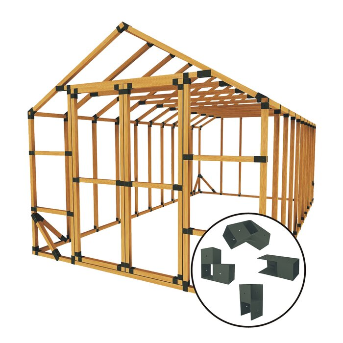 10 ft  W x 20 ft  D Storage Shed