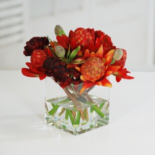 Waratah Centerpiece in Vase