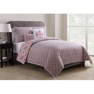 Closter Quilted Reversible Duvet Cover Set